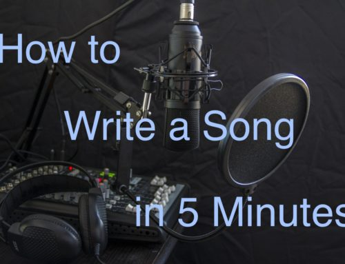 How to Write a Song in 5 Minutes